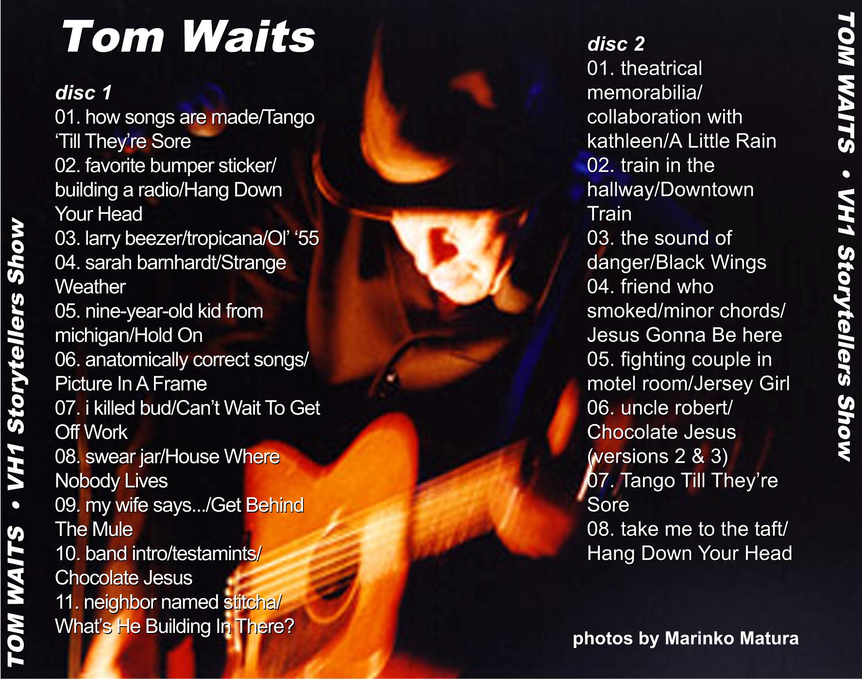 Tom Waits Vh1 Storytellers Extended